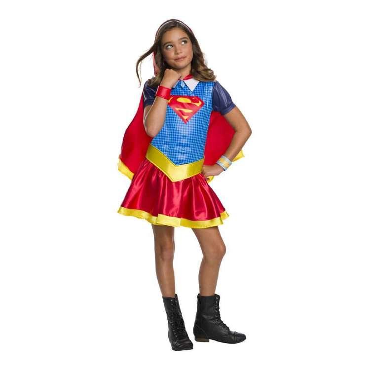 DC Comics Supergirl Hoodie Kids Costume