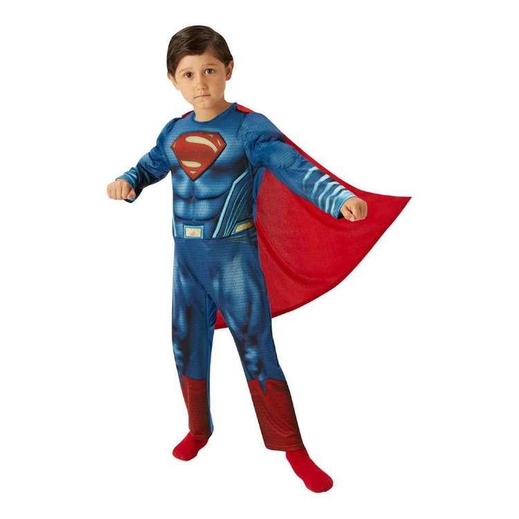DC Comics Superman Deluxe Kids Costume