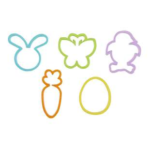 Happy Easter Cookie Cutter 5 Pack