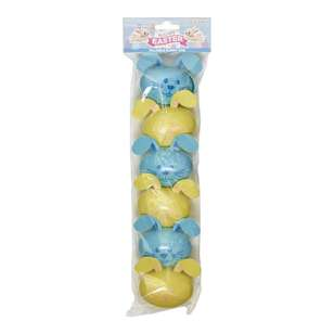 Happy Easter Fillable Bunny Egg 6 Pack