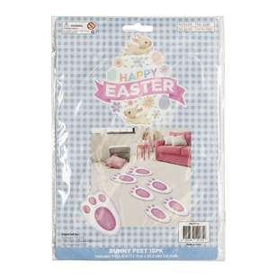 Happy Easter Bunny Feet 15 Pack