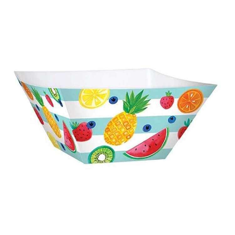 Amscan Fruit Large Square Paper Bowl 3 Pack
