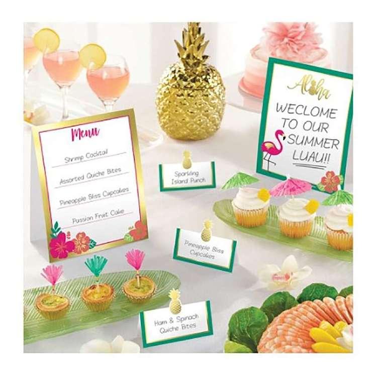 Amscan Aloha Mini Buffet Decoration Kit