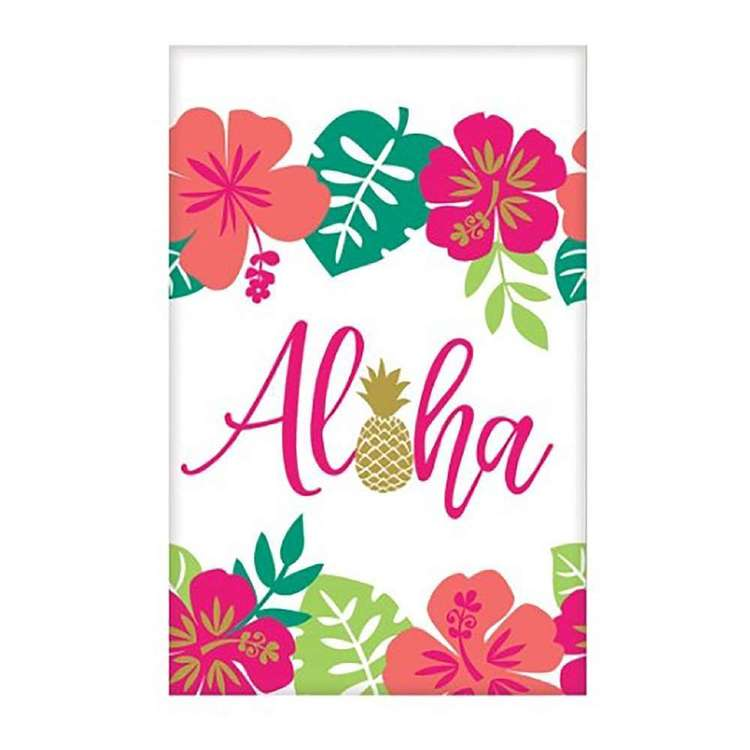 Amscan You Had Me At Aloha Paper Table Cover