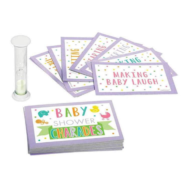 Amscan Baby Shower Game Charades