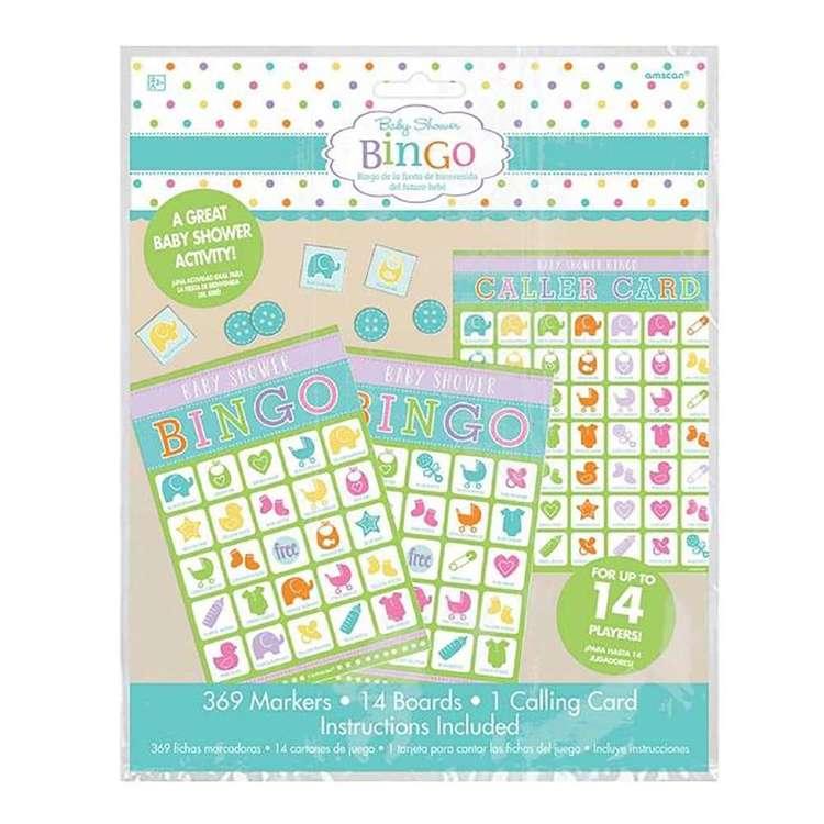 Amscan Baby Shower Game Bingo