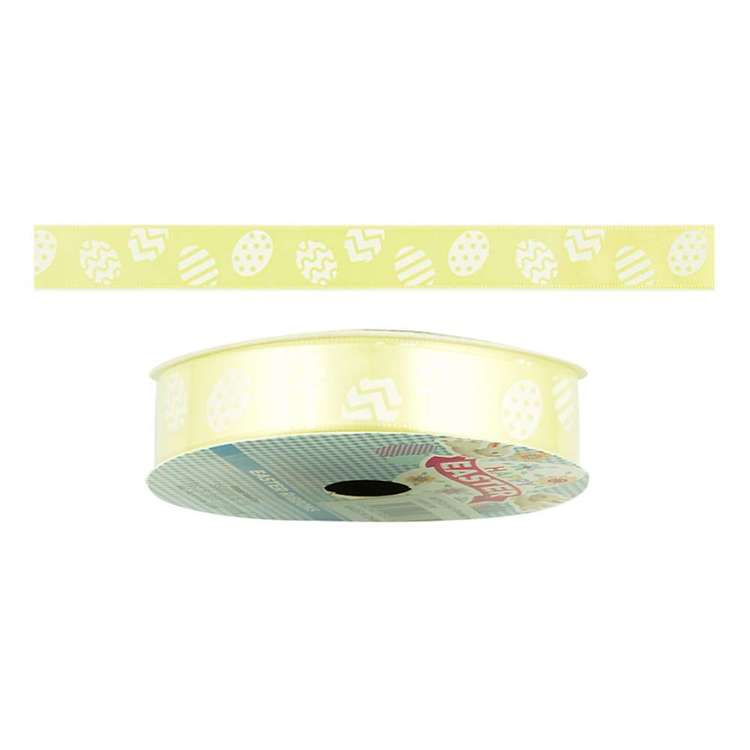 Happy Easter Egg Satin Ribbon
