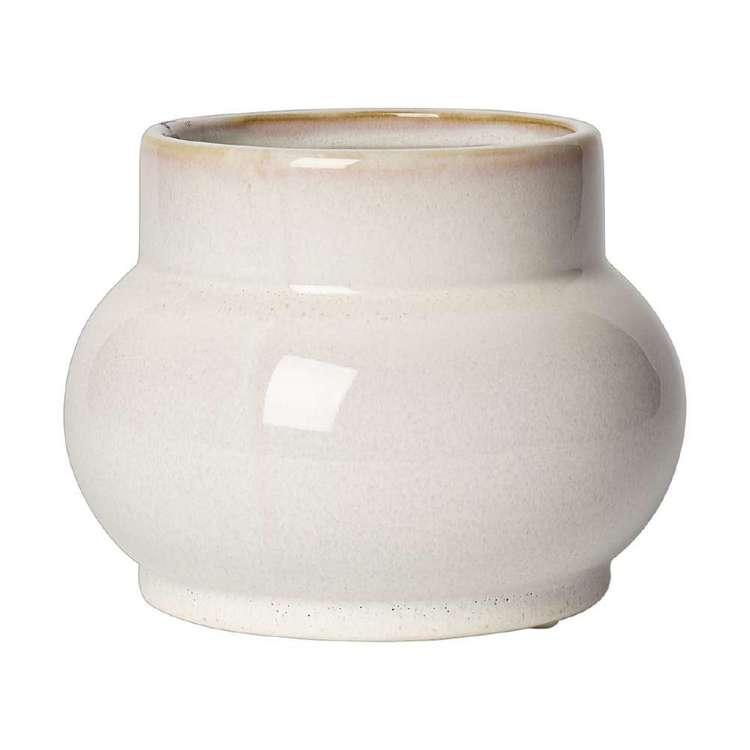 Living Space Bohemian Gypsy Ceramic Speckled Vase