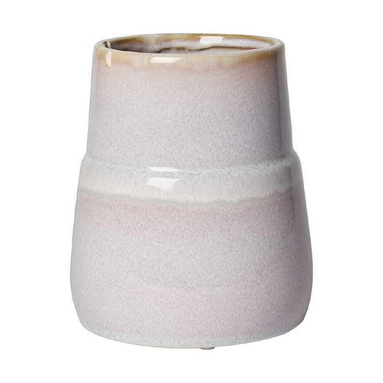 Living Space Bohemian Gypsy Ceramic Speckle Vase
