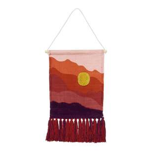 Living Space Bohemian Gypsy Sunrise Wall Hanging