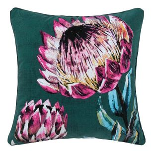 Ombre Home Boho Bloom Camilla Protea Cushion