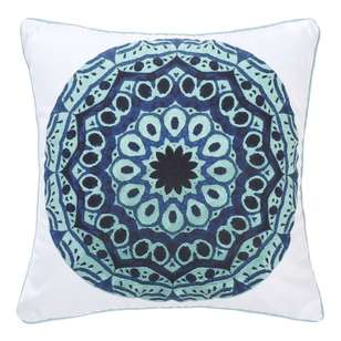 Ombre Home Boho Bloom Aziza Mandala Cushion
