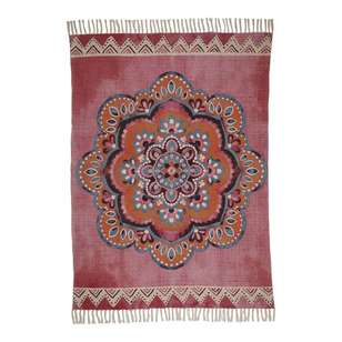 Ombre Home Boho Bloom Aziza Cotton Rug