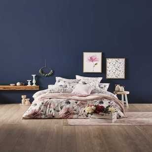 Ombre Home Classic Chic In Bloom Quilt Cover Set