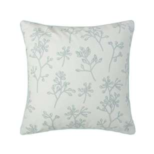 Ombre Home Classic Chic Botanical Ditsy Cushion
