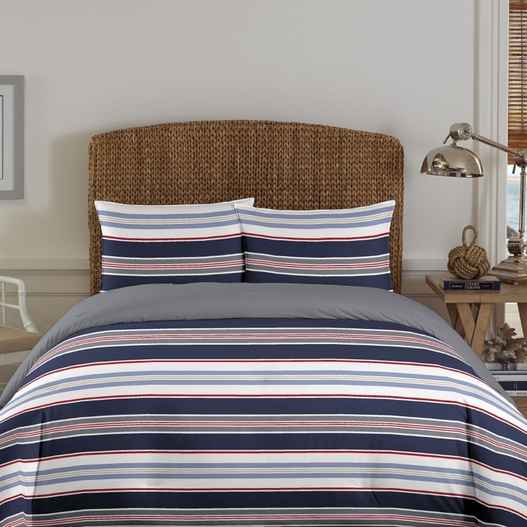 Nautica Blackburne Stripe Quilt Cover Set