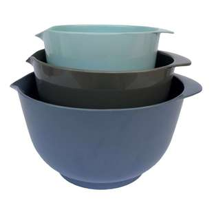 Classica Melamine 3 Piece Mixing Bowl Set