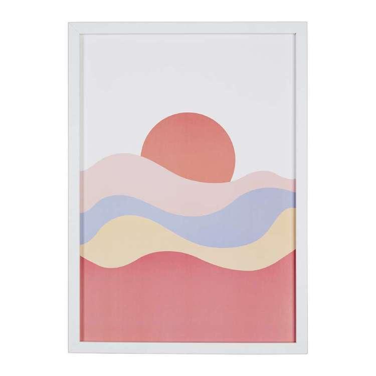 Cooper & Co Sun Waves Framed Print