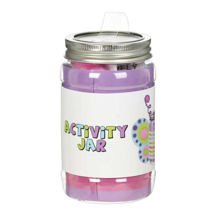 Butterfly Activity Jar