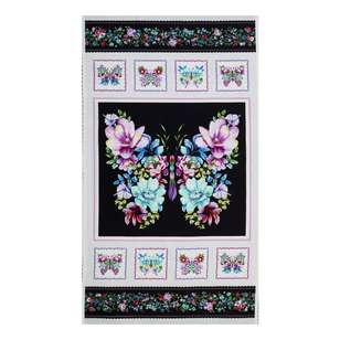 Studio E Sweet Perfume Floral Butterfly Cotton Panel