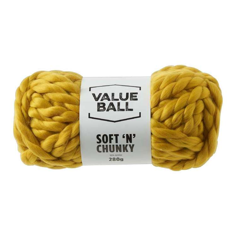 Value Ball Soft N Chunky Acrylic Yarn