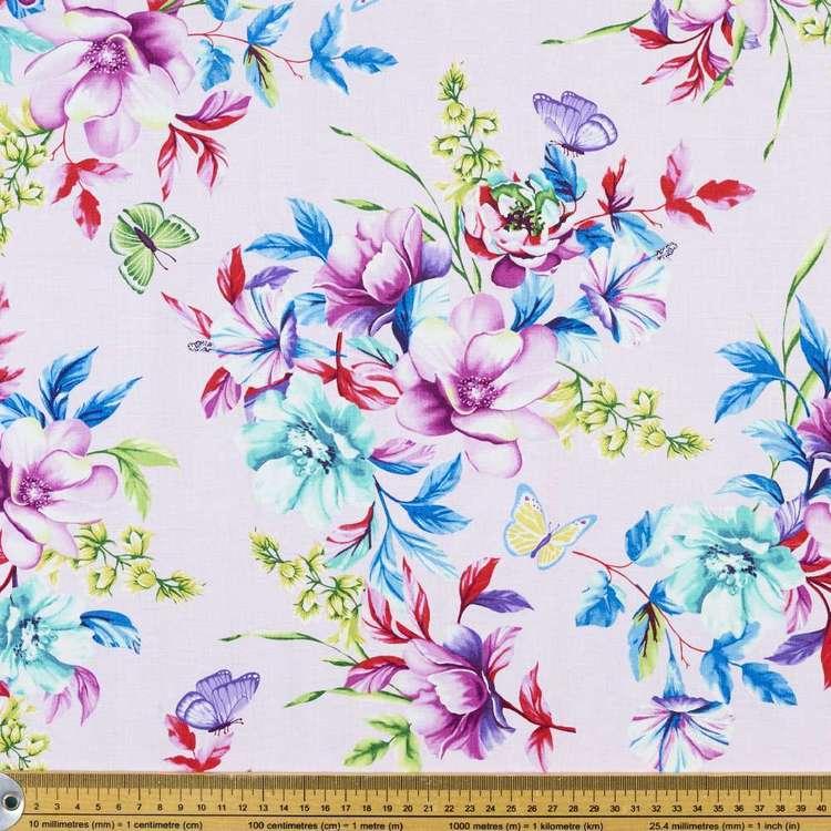 Studio E Sweet Perfume Floral Bouquet Cotton Fabric