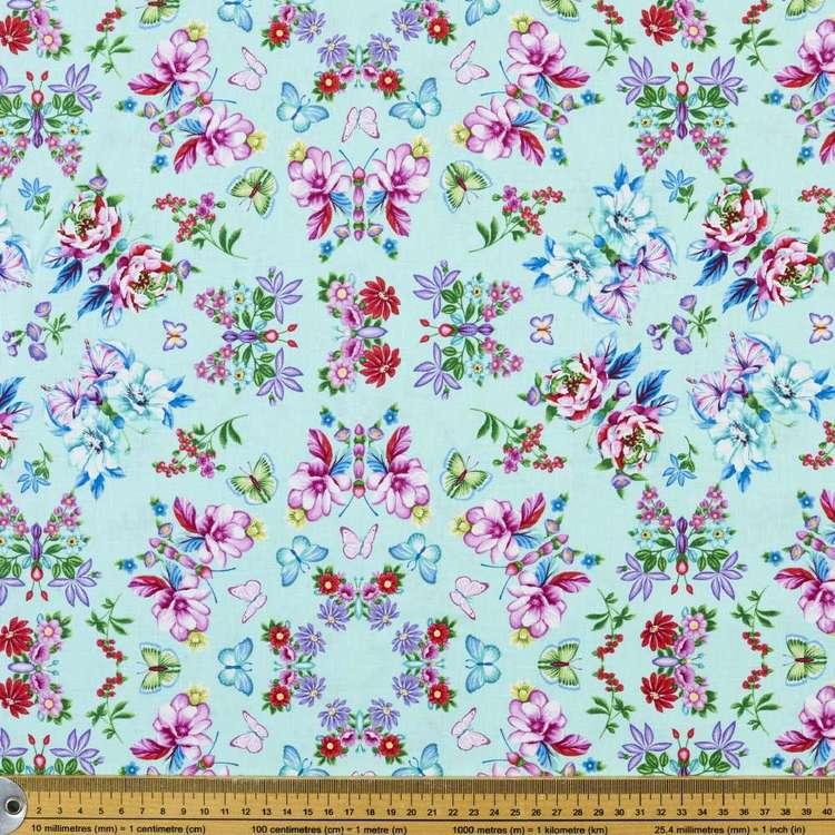 Studio E Sweet Perfume Floral Medallion Cotton Fabric