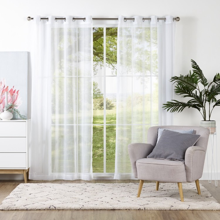 Mode Lily Sheer Eyelet Curtains