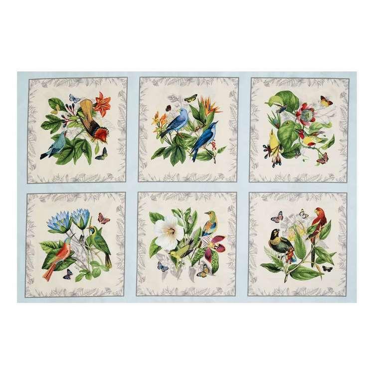 Elizabeth's Studio Botanical Cotton Panel