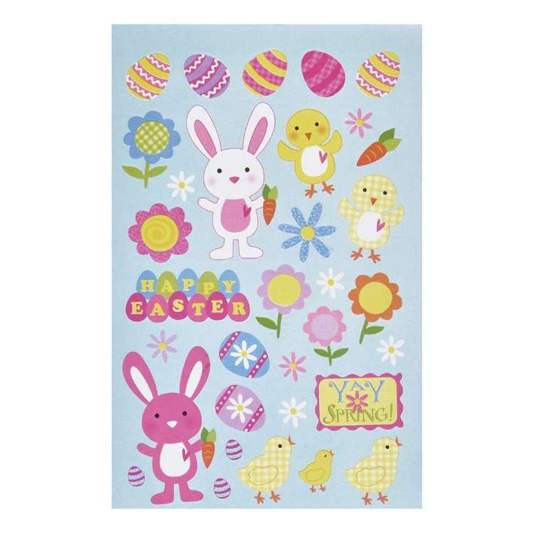 Happy Easter 10 Page Sticker Book