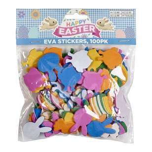 Happy Easter Foam Stickers