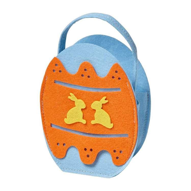 Happy Easter Felt Egg Bag