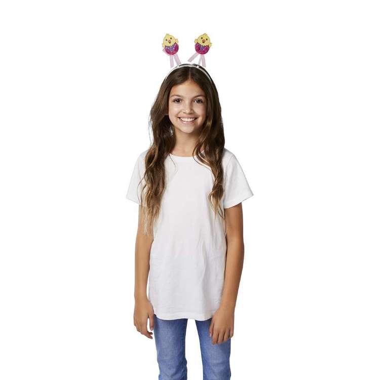 Happy Easter Chick Bobble Headband