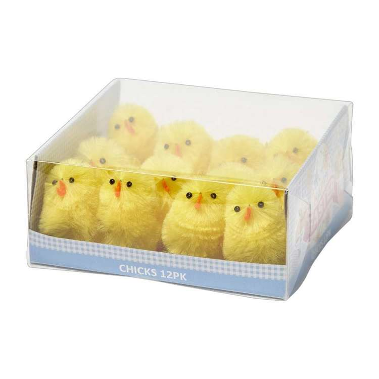 Happy Easter Chicks 12 Pack