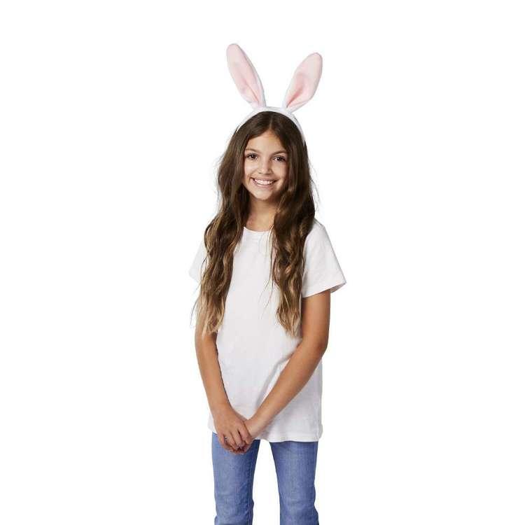 Happy Easter Plush Bunny Headband