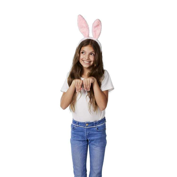 Happy Easter Bunny Headband & Tail