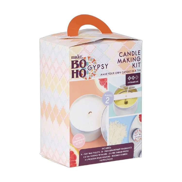 Make Boho Gypsy Candle Kit