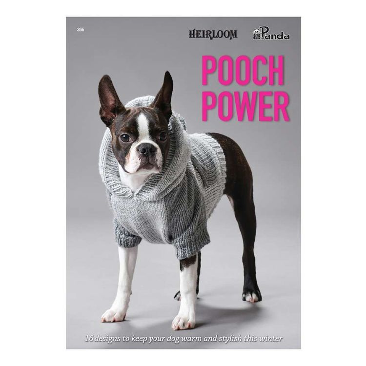Patons Pooch Power Book