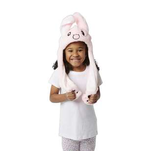 Party Creator Pink Bunny Moving Ears Hat