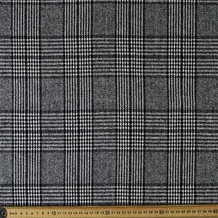 Houndstooth Multi Pattern 145 cm Wool Suiting Fabric