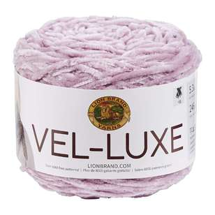Lionbrand Vel-Luxe Polyester Yarn