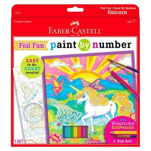 Faber Castell Paint By Number Foil Fun