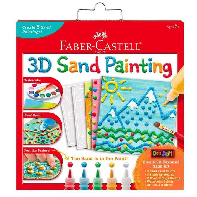 Faber Castell 3D Sand Painting Art Kit