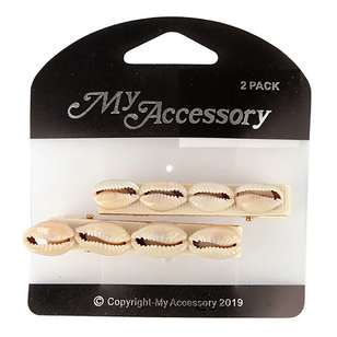 My Accessory Shell Duck Clip 2 Pack