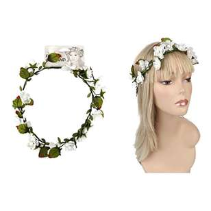 Be Yourself Asymmetric Flower Head Garland