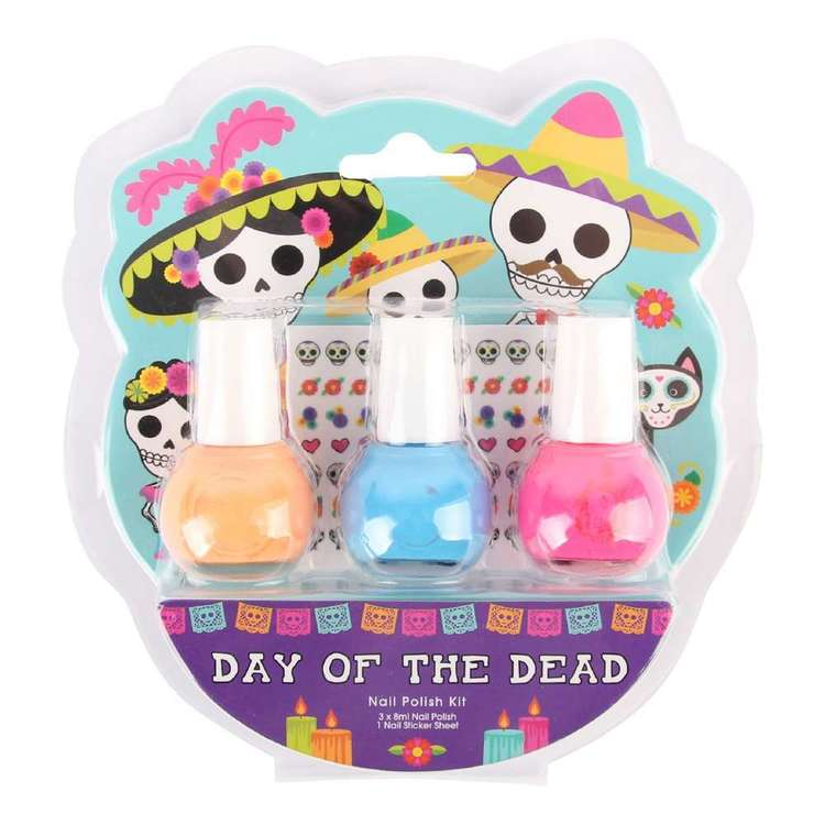 BYS Halloween Day Of The Dead Nail Kit