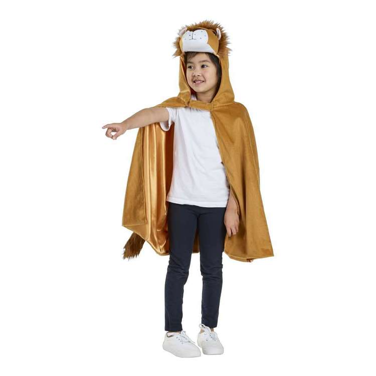 Spartys Lion Kids Cape Brown Child