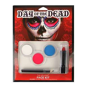 Be Yourself Day Of The Dead Face Kit