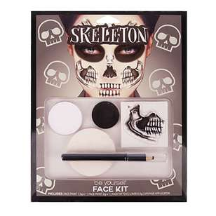 Be Yourself Skeleton Face Kit