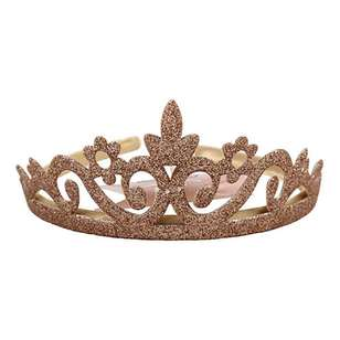 My Accessory Kids Gold Glitter Crown